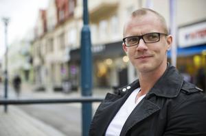 Mattias Wannqvist är delägare i det bolag som driver Nygatan 1 (före detta Tranan) i centrala Bollnäs.