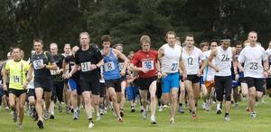 Närmare 400 motionärer deltog i Mitt Hjärta-loppet på lördagen.