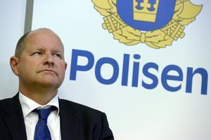 Regionschefen Annika Stenberg har avgått efter samtal med rikspolischef, Dan Eliasson