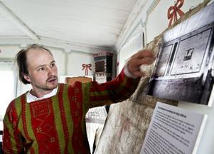 Anders Assis berättade om hur Karlsgården förändrats genom tiderna.