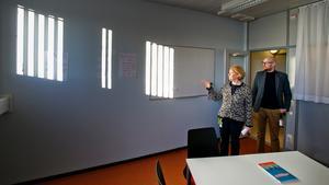 Monika Gustafsson och Fredrik Berglund ser fram emot att utöka verksamheten – skolan utökas med sex lärartjänster.