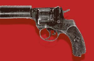 Revolvern som användes vid attentatet var av ryskt märke.
