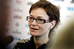 Anna Carin Olofsson-Zidek ska fortsätta tävla över OS i Vancouver 2010, efter det kan karriären komma att avslutas. Foto: Håkan Luthman