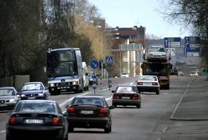 Sundsvalls kommun och Trafikverket fortsätter arbetet med hur man i framtiden ska kunna minska trafiken på Bergsgatan.