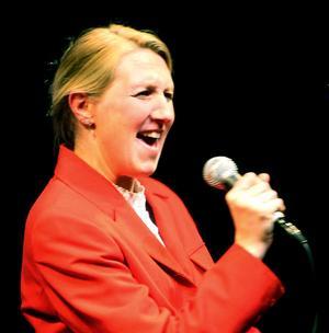 Camilla Moberg sjöng rivigt solo.
