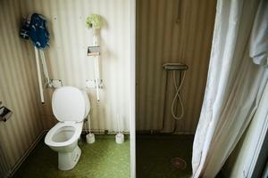 """""""Den asylsökande ska erhålla en boendemiljö som garanterar ett skydd mot risk för olägenhet."""" En olägenhet är fukt och mögel. Det finns i lägenheten på Ramsbergsvägen i Stråssa."""