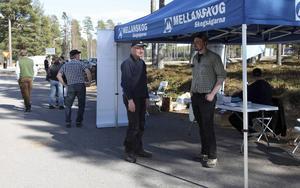 Jan-Erik Svensson var nöjd med dagen som gav många nya kontakter.