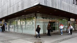 Ninves gamla lokaler har stått tomma sedan affären stängde i maj 2012 då bilden togs.