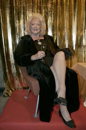 Alice Timander – en av dem som regisserat bilden av sig själv på röda mattan.