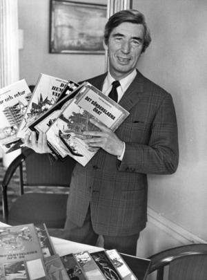 Tintins skapare George Remi, Hergé, 1907-1983.