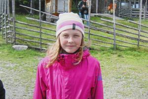 Sista fotot på Emma Karlsson, 11 år gammal.