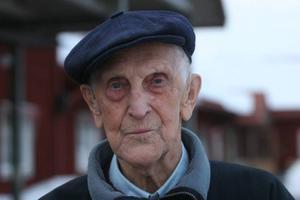 Nestorn Adolf Andersson fanns på plats under två av hälsodagarna.