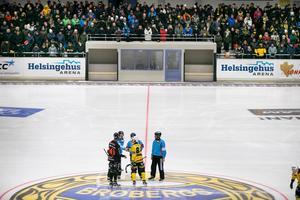 Under invigningen av den nya bandyhallen i Söderhamn presenterades arenanamnet Helsingehus arena.