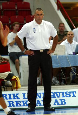 Jan Enjebo är numera coach för ett ligalag i Luxemburg. Han uppfyller de kriterier som Jämtland söker för sin nye headcoach.   Arkivbild: TT