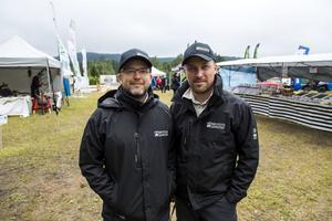 Bröderna Johan och Peter Olsson kom på idén om en jakt- och friluftsmässa tillsammans med familjen under älgjakten.