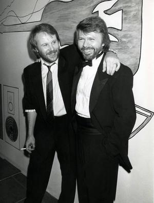 Benny och Björn, 1975.