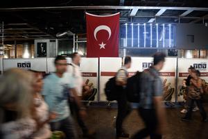 Flygplatsen Ataturk i Istanbul. Självmordsbombare dödade fler än 40 personer och skadade hundratals.
