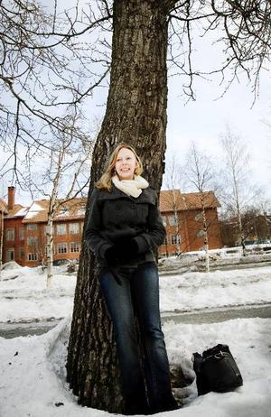 """""""När det gäller mjölken så är det ett stålbad som nu. Det gäller att hålla ut och det finns bra förutsättningar  i Jämtland för produktion av både mjölk och kött"""", säger Hilda Runsten som ingår  i ungdomens riksstyrelse  inom LRF."""