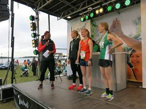 Fagerstabon Rebecka Törner blev trea, Malin Besson etta och Julia Forslin tvåa.