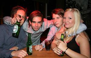 Rock&K Baren. Tobbe, DK, Daffa och Erica