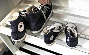 Skor för små fötter och stora.
