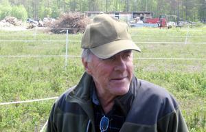 Bror Klockervold, gammal spelare i Ljusnedals IF, Tänndalens IF och IF Skarvarna.