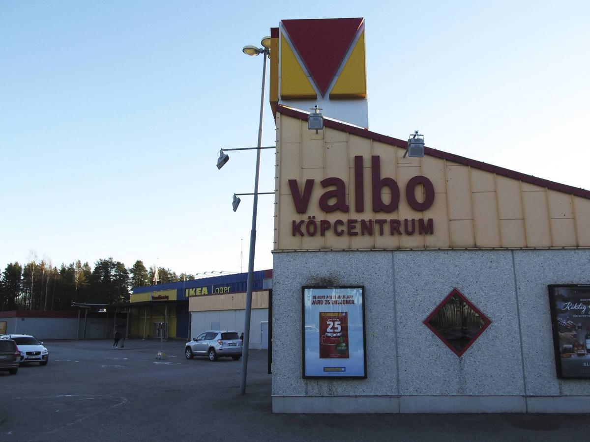 Valbo köpcentrum byggs ut – Lagerhaus kan bli en av de nya