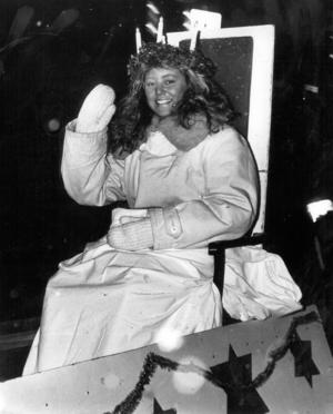1989 blev Malin Zetterberg, 18 år och från Överhogdal, länets Lucia.