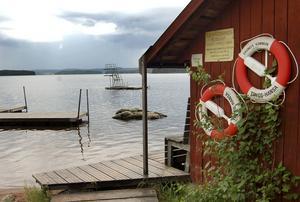 Flosjöbadet i Syrholn, Dala-Floda.