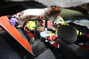 Mid Sweden Rescue sista övning innan resan mot VM i England
