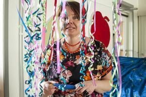 Marielle Dahlsten upplever att ljudmiljön är mycket bättre på den nya förskolan.