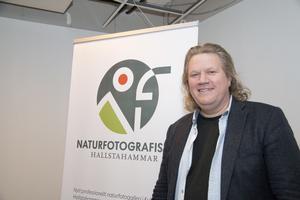 Anders Geidemark är naturfotograf och konstnärlig ledare för det naturfotografiska galleriet.