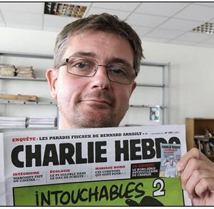 """""""Jag dör hellre stående än lever på knä"""", sade chefredaktör Stéphane Charbonnier i en tidigare intervju."""