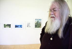 Stefan Daagarsson har nyligen avslutat sommarens utställning.