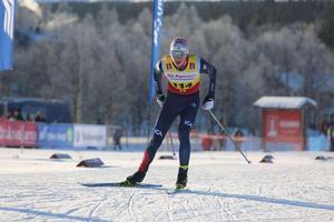 William Poromaa, numerar i Åsarna, tog JSM-guld på både 10 och 15 kilometer i Jönköping.