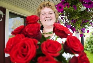 Socialdemokraternas Karin Paulsson är mycket nöjd över valresultatet i Bergs kommun.