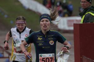 Natalia Vinogradova var näst snabbast på sista sträckan och förde upp Alfta ÖSA från 11:e till sjätteplats.