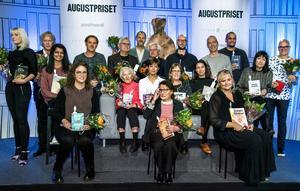 Augustpriset delas ut i Konserthuset i Stockholm den 27 november. De nominerade presenterades på måndagen.