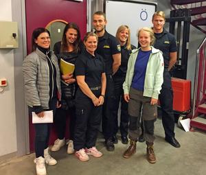 Fem kvinnor kom när räddningstjänsten gjorde en drive för att värva ny personal i Sveg.