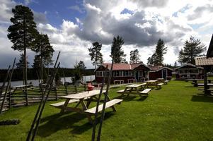 Caféet vid rastplatsen, Kaffestugan, bidrog till att Långsjön blev Dalarnas bästa rastplats. Foto: Janne Eriksson