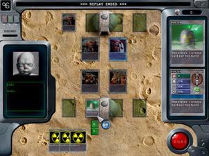 Battlecards:Cybots är ett avancerat kortspel som spelas online. Flera tusen användare kan spela samtidigt.