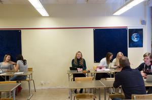 Alva Edman går i klass 9D på Åvestadalskolan.