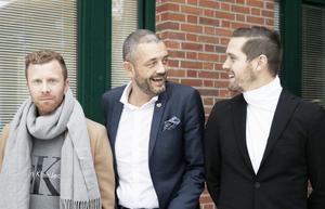 Stark trio i Kristoffer Näfver, Carl Pauly och Stellan Carlsson.