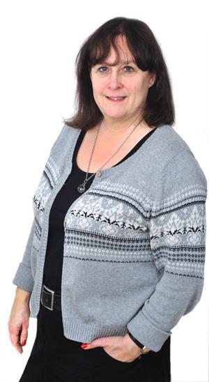 Katrin Säfström, tidningschef och ansvarig utgivare