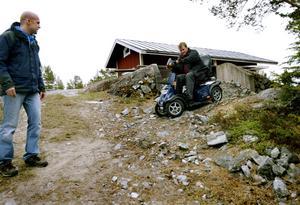 Marcus och hans bror Henrik på Storholmen år 2007.