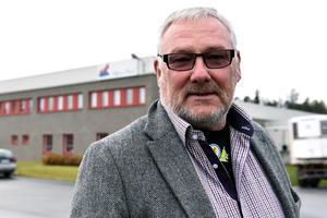 Thomas Perkiö är vd på Siljans chark som nu satsar på griskött.