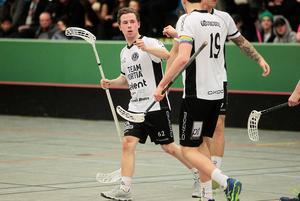 Filip Nilsson är en spelskicklig back och viktig kugge när FBC Bollnäs laddar om för en jakt på allsvenskan.