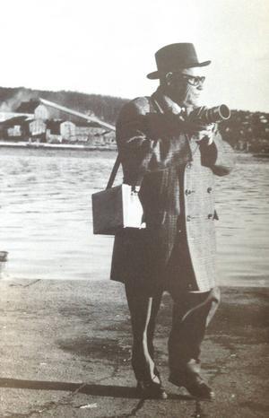 Einar Jansson anställdes 1939 som tidningens förste fast anställde fotograf.
