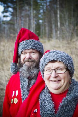 Snäretomtarna Bengt-Erik Johansson och Lena Andersson är certifierade sedan två år tillbaka.