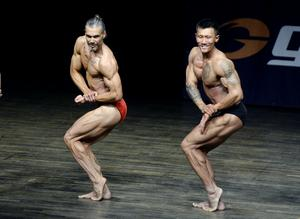 Jens Gullman Team Ironworks gym och vinnaren av Tammerpokalen Dmitry Li Team Nordic shape.